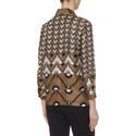 Vite Patterned Silk Shirt, ${color}