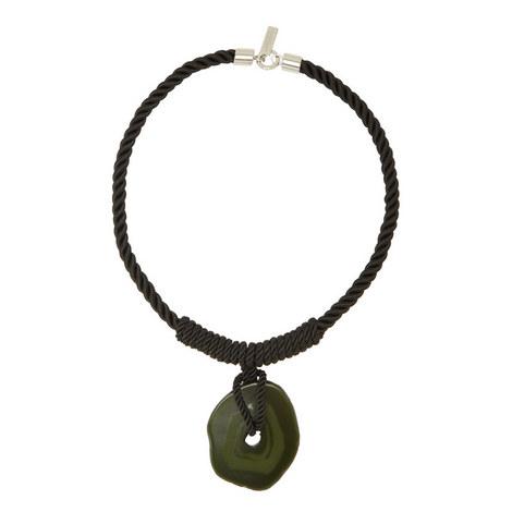 Lido Rope Stone Pendant Necklace, ${color}