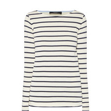 Virtus Long Sleeve Stripe Top