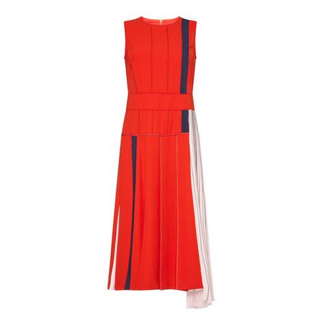 Falco Pleated Dress, ${color}
