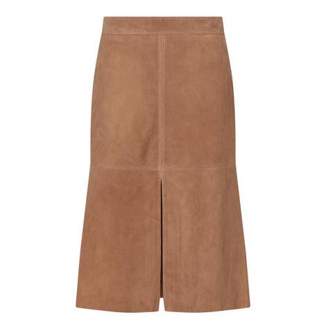 Zadar Suede Skirt, ${color}
