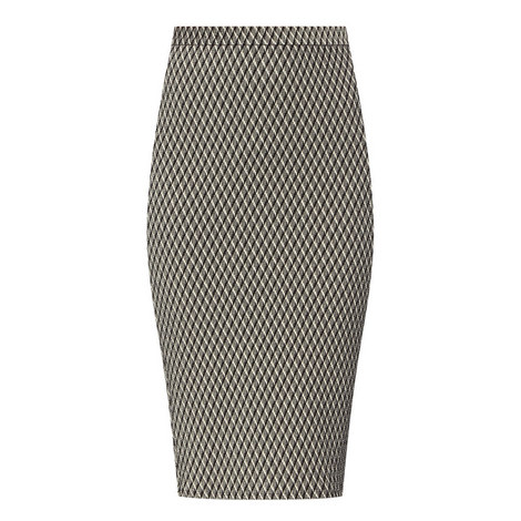 Zambia Knitted Pencil Skirt, ${color}