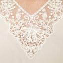 Zelinda Lace V-Neck Blouse, ${color}
