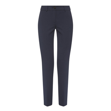 Zenone Cigarette Trousers, ${color}