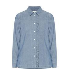 Zibello Ruffle Detail Shirt