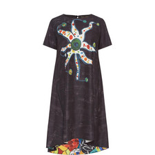 Denise Octopus Short Sleeve Dress