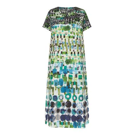 Doppiare V-Neck Dress, ${color}
