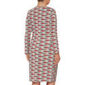 Olio Multi Print Dress, ${color}