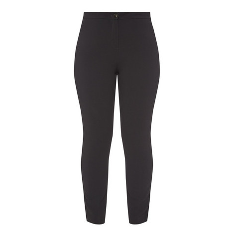 Ravel High Waist Slim Trousers, ${color}