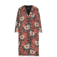 Tattile Floral Fringe Coat