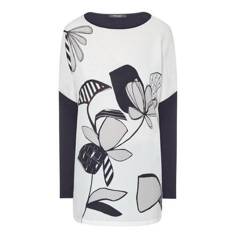 Vespa Floral Jersey Top, ${color}