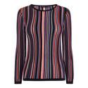 Striped Knit Jumper, ${color}