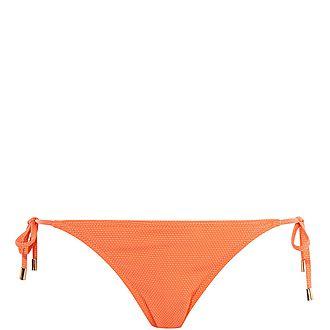 Tie-Side Bikini Bottoms