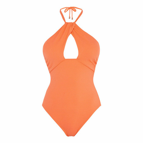 Halterneck Swimsuit, ${color}