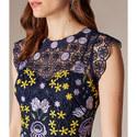 Garden Party Mini Dress, ${color}