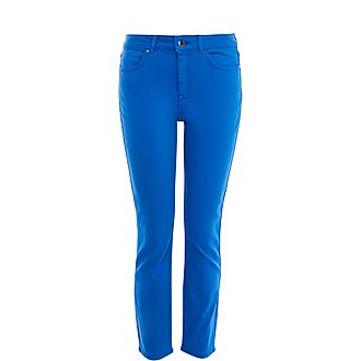 Mid-Waist Skinny Jeans