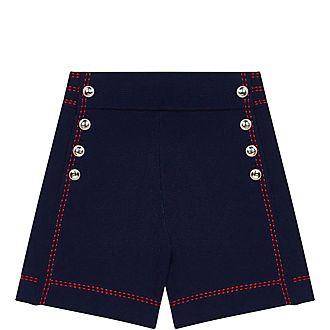 Contrast Stitch Shorts