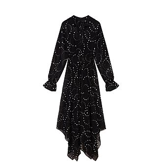 Muslin Scarf Dress