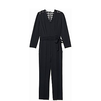 Wrapover Jumpsuit