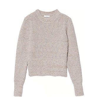 Rib Knit Effect Sweater