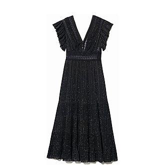Lurex Silk Dress