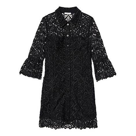 Guipure Coat Dress, ${color}