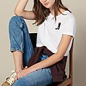 Embroidered Patch T-Shirt, ${color}