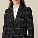 Tailored Tweed Jacket, ${color}