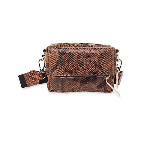 Bibi Snake Crossbody Bag, ${color}