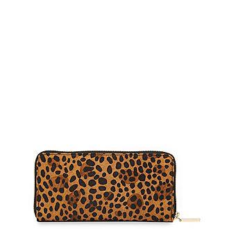 Reigate Leopard Wallet