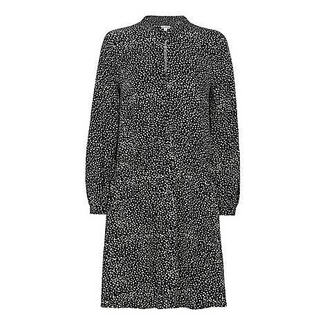 Mottled Spot Smock Dress, ${color}
