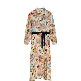 Long Buttoned Dress