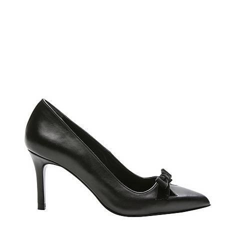 Knotted Escarpin Shoes, ${color}
