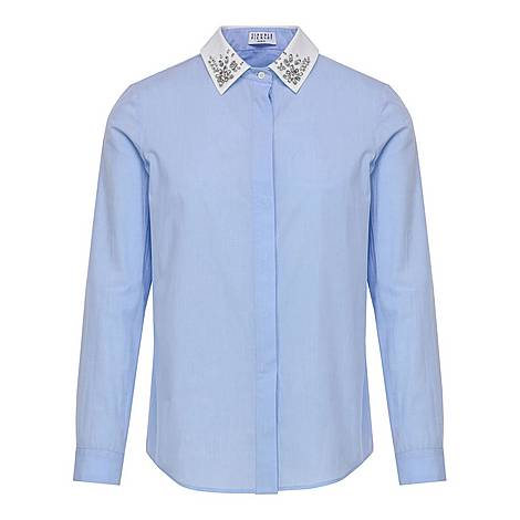 Patterned Collared Shirt, ${color}