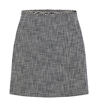 Light Tweed Skirt