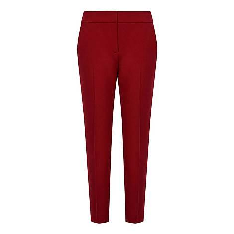 Cigarette-Fit Trousers, ${color}