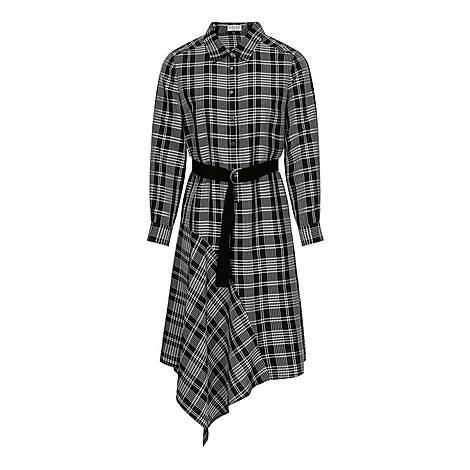 Long Asymmetric Dress, ${color}