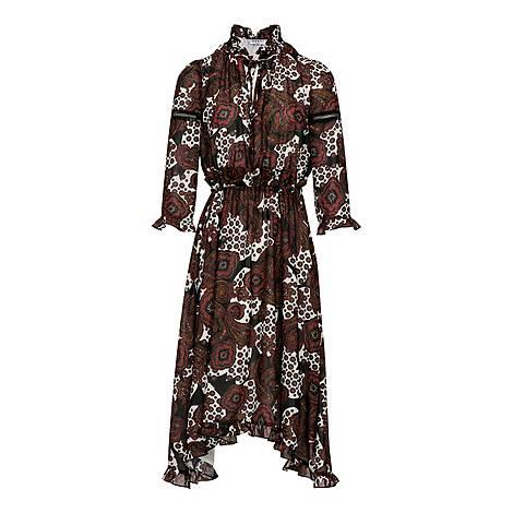 Long Printed Maxi Dress, ${color}