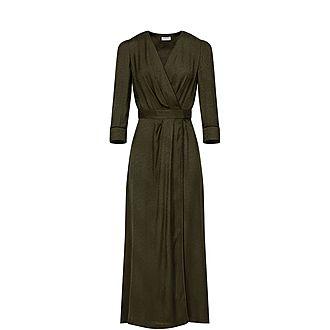 Kimono Style Wrap-Around Dress
