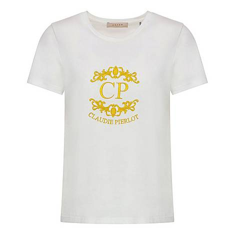 Claudie Pierlot Embroidered T-Shirt, ${color}