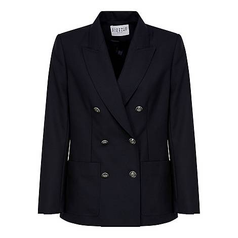 Double Buttoned Suit Jacket, ${color}