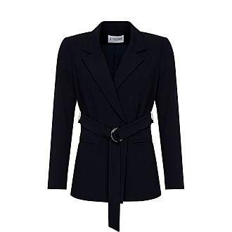 Belted Suit Jacket