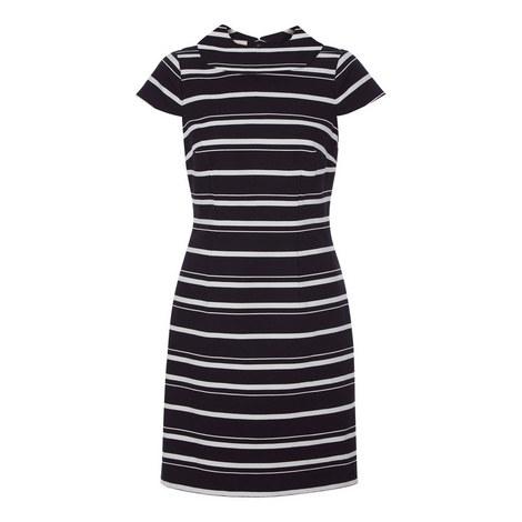 Aleah Striped Dress, ${color}