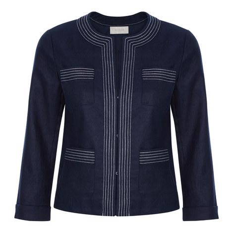 Avalynn Linen Jacket, ${color}