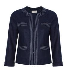Avalynn Linen Jacket