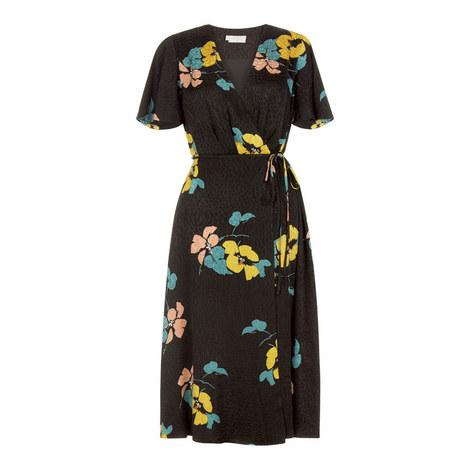 Peggy Floral Print Dress, ${color}