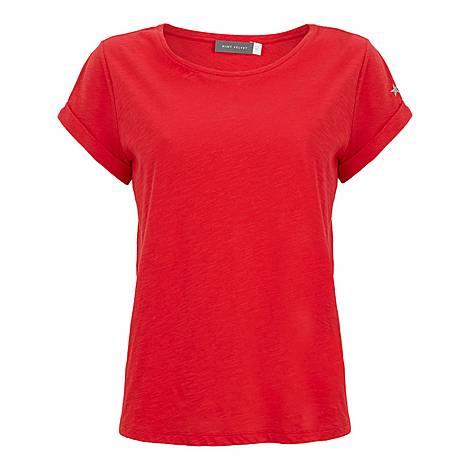 Cotton Star Print T-Shirt, ${color}