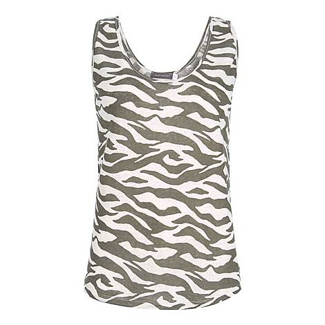 Zebra Print Vest, ${color}
