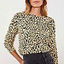 Maisie Animal Print Sweater, ${color}