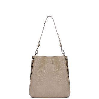 Chloe Stud Shoulder Bag